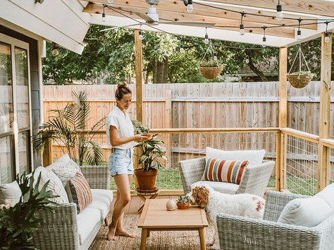 Friday Favorites - Outdoor Spaces