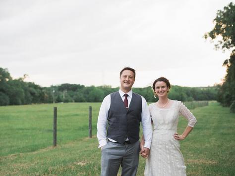 Emma + Steven Sweetest outdoor wedding on the family farm