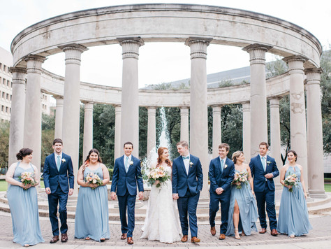 Kelsey + Matt Industrial Romance Wedding