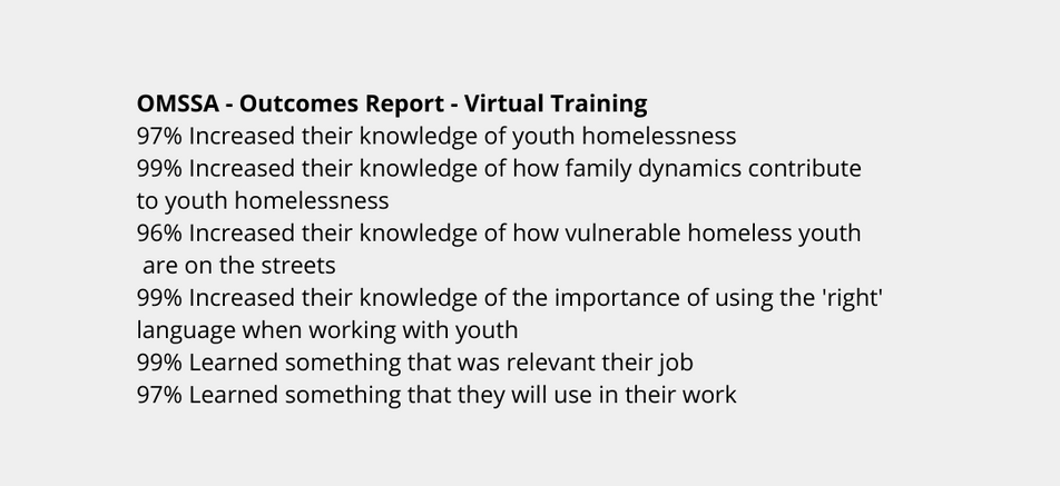 Workshop presentation - Social services group training