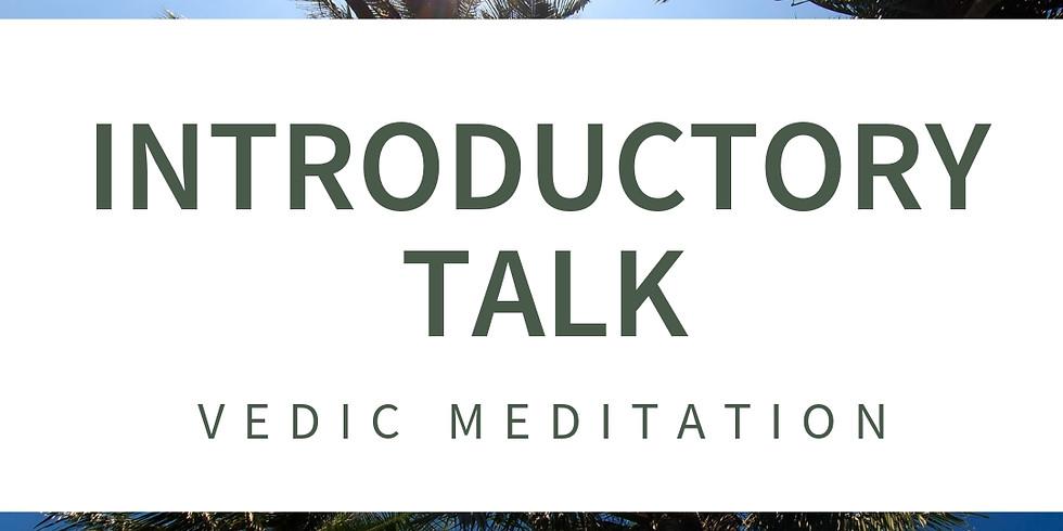 ONLINE: INTRO TO VEDIC MEDITATION