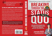 Breaking Through The Status Quo featuring Stefanie Pigeon book cover