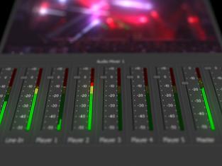 Modular audio mixer