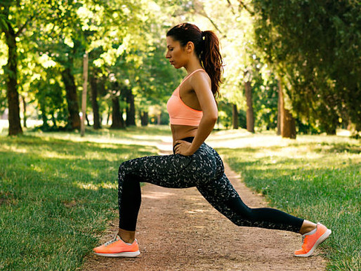 The Real Reason You May Be Shaking During Lunges
