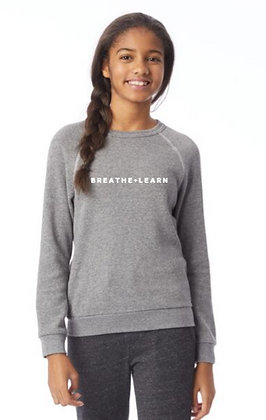 Youth Breathe + Learn Fleece Pullover