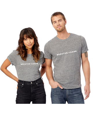 Adult Unisex Breathe + Learn Eco-Jersey Crew T-Shirt