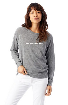 Adult Slouchy Eco-Jersey Pullover