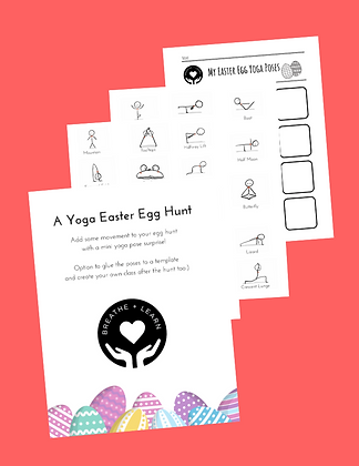 Yoga Easter Egg Hunt