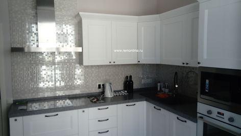 кухня после ремонта квартир