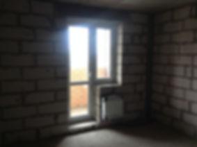 Вход на балкон до ремонта квартиры