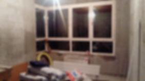 под черновой ремонт ,большая комната