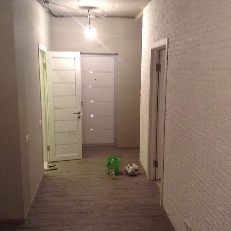 Коридор после ремонта квартиры