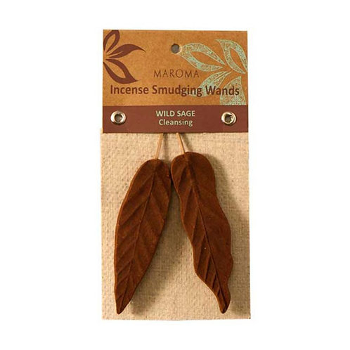 Maroma Wild Sage Smudging Wand Incense