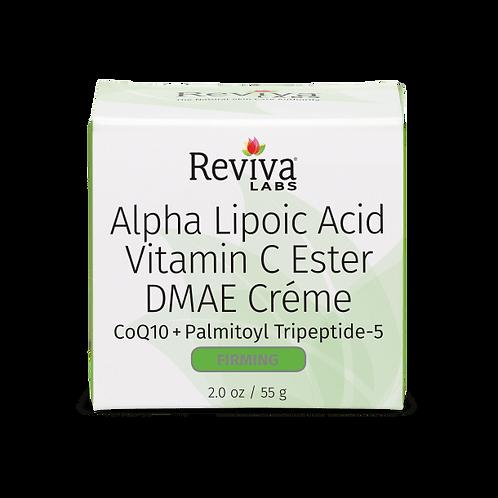 Reviva Labs Alpha Lipoic Acid Vitamin C Ester DMAE Creme