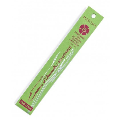 Maroma Earthy/Woodsy Incense Assortment