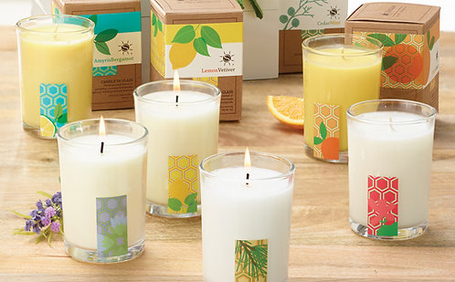 All Natural Essential Oil Candles w/Coconut Base