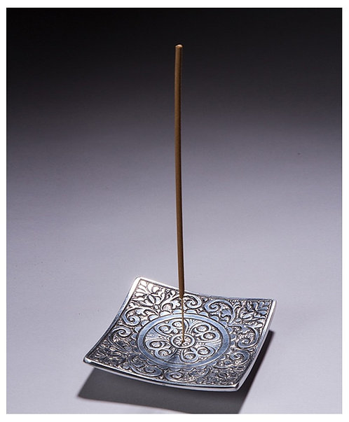 Aluminum Recycled Square Incense Pattern Holder