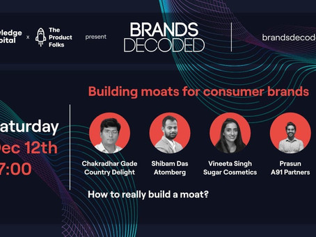 Building Moats for Consumer Brands