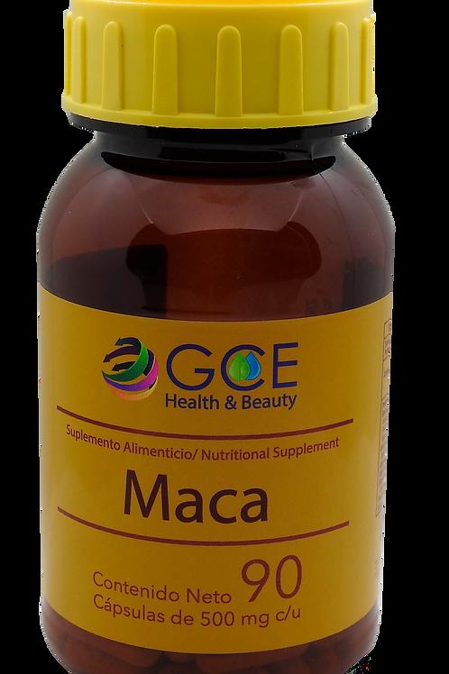 MACA 90 capsulas de 500 mg