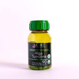 ALGA SPIRULINA 90 capsulas de 500 mg
