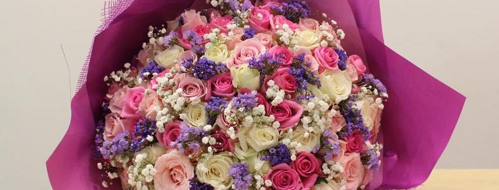 Sweet Blushing Roses