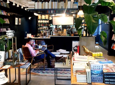 Want Your Home To Look Like #coffeeculture? Embrace Your Inner Geek And Pull Out Those Books Urkel!