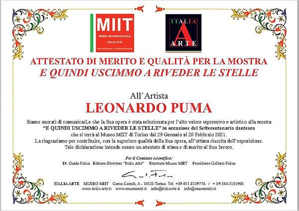 Attestato MIIT Dante- Puma.JPG