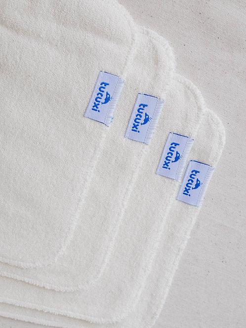 Toallitas Higiénicas de Tela (Pack de 4)