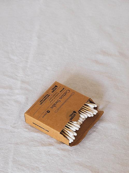 Bastonets per les Orelles de Bambú i Cotó