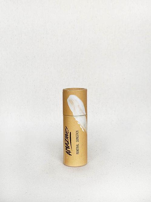 Protector Solar Natural en Stick SPF 50 (Amazinc)