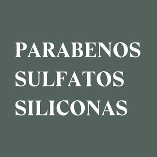 Parabenos, sulfatos y siliconas