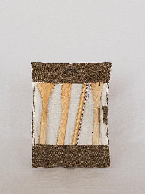 Set de Coberts de Bambú