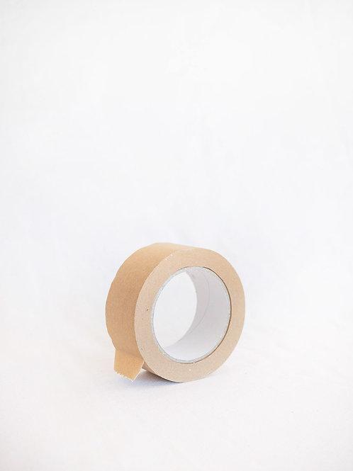 Cinta Adhesiva Papel Kraft y Caucho Natural (Sin Plástico)