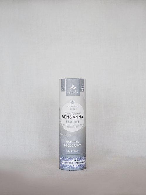 Desodorant 100% Natural Pells Sensibles