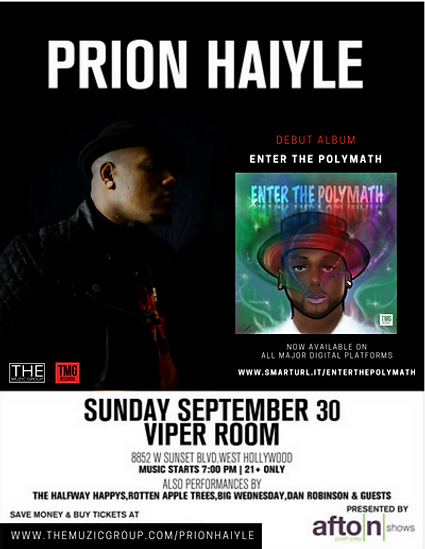Prion Haiyle Viper Room Promo Flyer #2.p