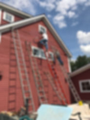 Contractors Working on Remodeling Project | Tim Meehan Builders