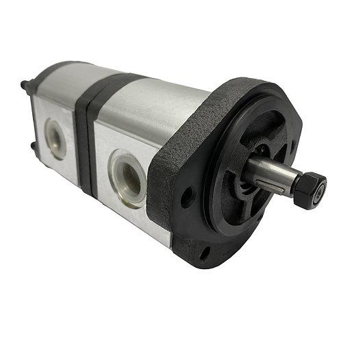 John Deere RE223233 Hydraulic gear pump replacement