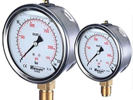 "Pressure Gauge 2.5"" 5,000 PSI Bottom Mount"