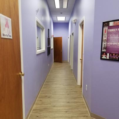 Hallway to Other Studios
