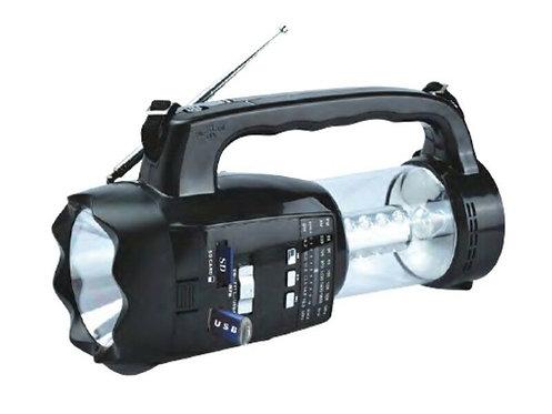 Rechargeable Lantern w/ Radio/USB/BT