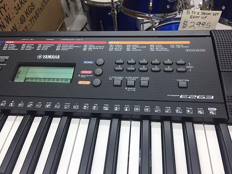 Yamaha PSR-263 Screen