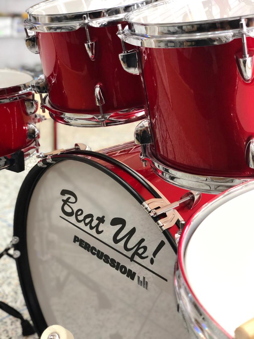Bass, Toms, Snares, Floor Tom