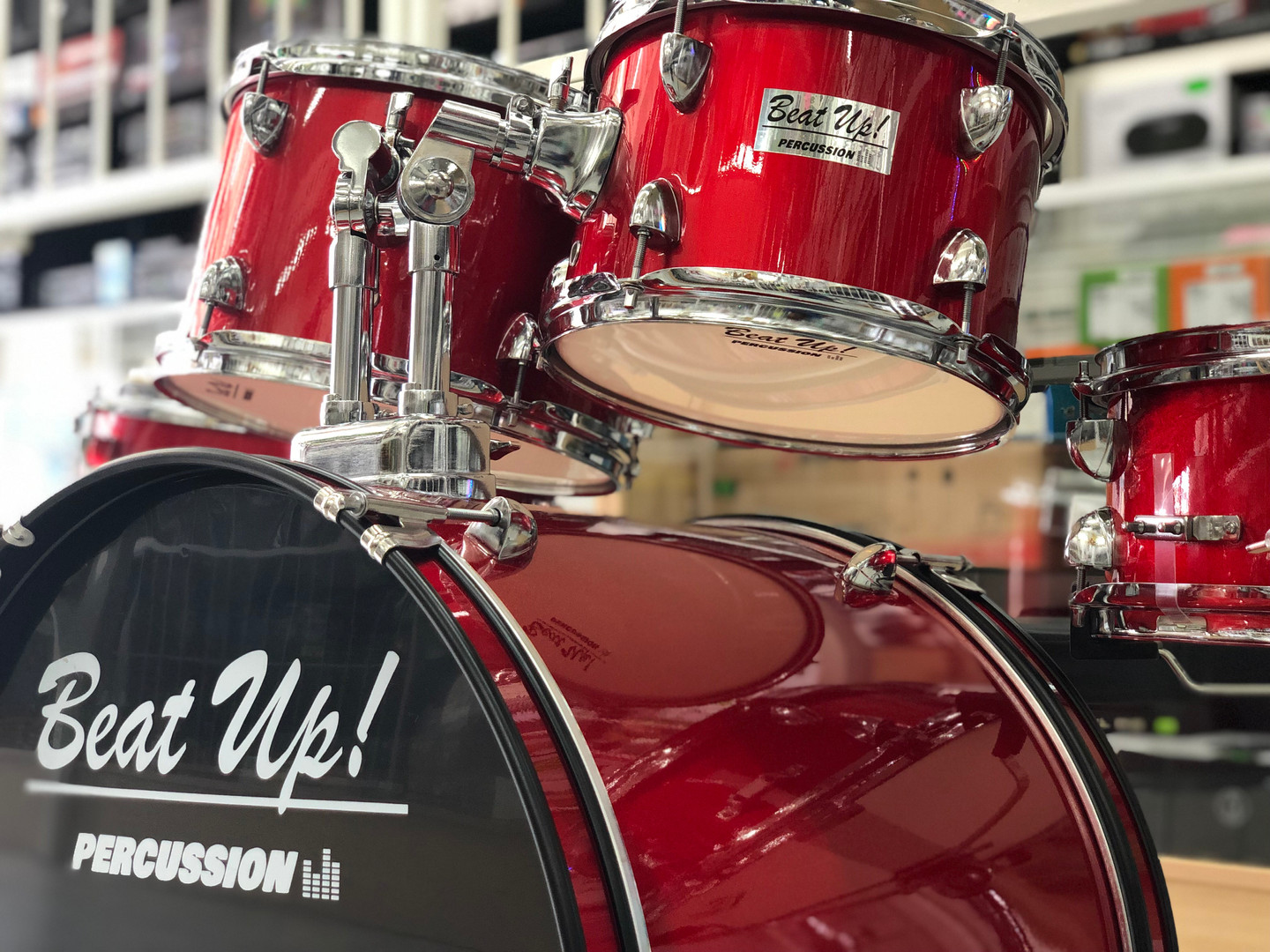 Snares, Bass and Toms