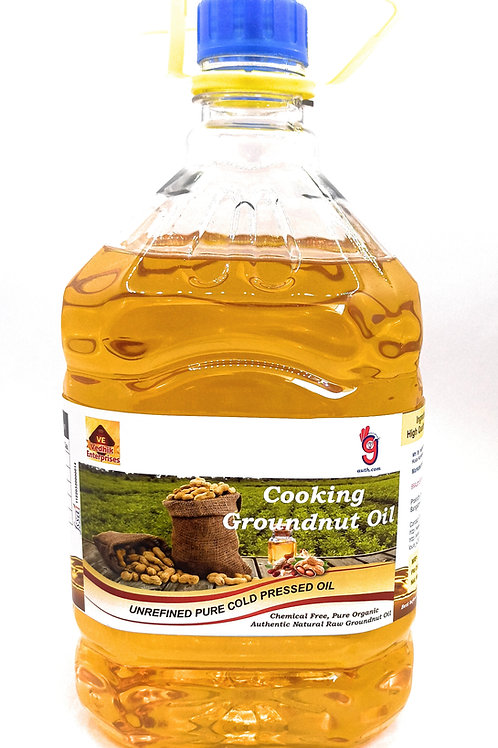 Groundnut Oil - Cold Pressed Organic