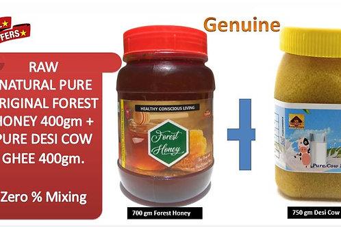 700g Forest Honey + 750g Pure Ghee