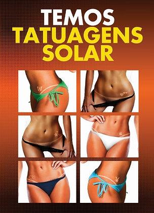 x Banner de Tatuagem Solar