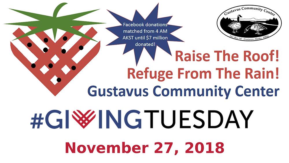November 27, 2018 Donate on #GivingTuesday