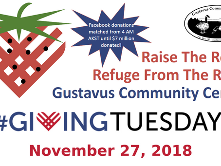 #GivingTuesday To Raise the Roof