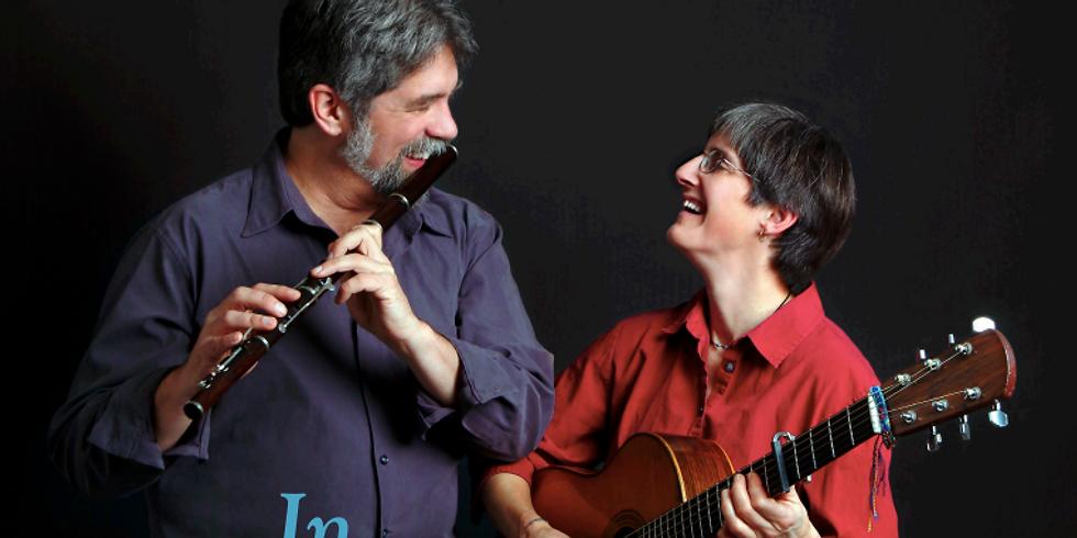 Traditional Folk Musicians Cindy Kallet and Grey Larsen
