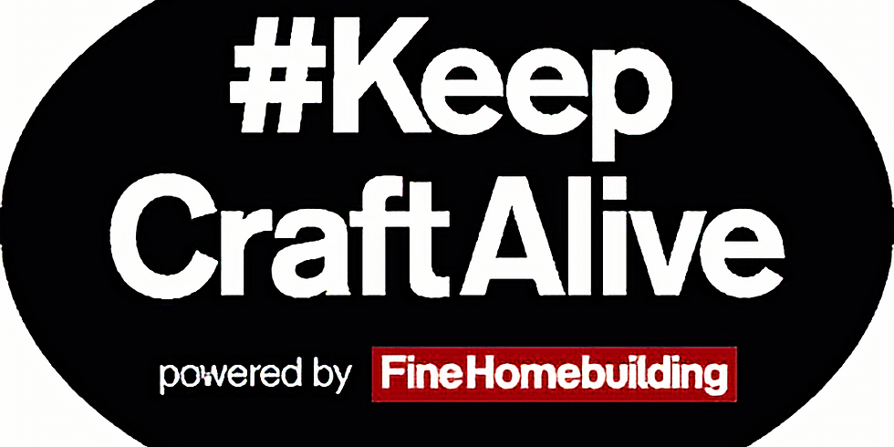 Tradecraft Presentation #Keepcraftalive